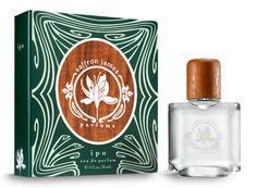 Eau de Parfum in Ipo by Saffron James Parfums-- A light floral with notes of Pakalana Flower (commonly referred to as the Chinese Violet), Moroccan Rose, Orange Blossom, Tahitian Gardenia and Lemongrass.