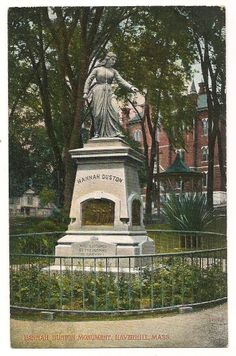 Hannah Duston statue (Haverhill)