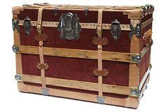 Twin Belt Cargo Trunk, C. 1920 on OneKingsLane.com