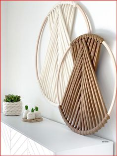 Diy Home Decor Bedroom, Fall Home Decor, Cheap Home Decor, Diy Wand, Diy Crafts For Adults, Diy Home Crafts, Decor Crafts, Diy Wall Art, Diy Wall Decor