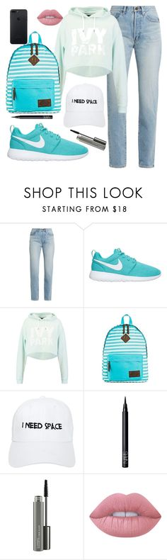 """""""loving this bag"""" by beingmyselfaf ❤ liked on Polyvore featuring Yves Saint Laurent, Ivy Park, Dickies, Nasaseasons, NARS Cosmetics, MAC Cosmetics and Lime Crime"""
