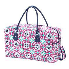 Preppy Travel Duffle Bag