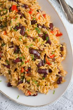 Jamaican Rice and Peas Recipe – Easy Red Beans and Rice Jamaican Rice and Peas Recipe – Easy Red Beans and Ricewhereismyspoon riceandbeans riceandpeas airfryerrecipes beans breadrecipes christmasrecipes easy jamaican Peas recipe Red Rice ricerecipes Rice And Peas Recipe Easy, Red Beans N Rice Recipe, Easy Rice Recipes, Pea Recipes, Vegetarian Recipes, Healthy Recipes, Cooking Recipes, Red Beans And Rice Recipe Vegetarian, Pasta And Beans Recipe