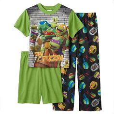 Teenage Mutant Ninja Turtles Say Pizza! Pajama Set - Boys 4-10