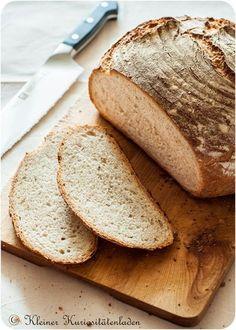 Brot selber backen. Heute: Frisches Landbrot!
