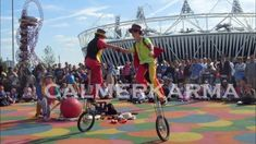 Calmer Karma Entertainment licensed suppliers to the London Organising Committee of the Olympic and Paralympic Games. Unicyclists and Jugglers perform for London Olympic 2012 visitors British Seaside, British Summer, Corporate Entertainment, Party Entertainment, London Brighton, London Birmingham, British Themed Parties, Uk Parties, Olympics Opening Ceremony