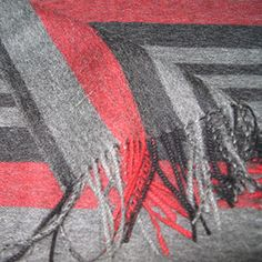 Écharpe bravado rouge
