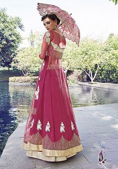 Party wear salwar kameez and party wear suits online shopping at Ishimaya providing low cost shipping of products to majority of cities worldwide. Designer Anarkali, Anarkali Suits, Salwar Kameez, Party Wear, Magenta, Embroidery, Casual, How To Wear, Collection