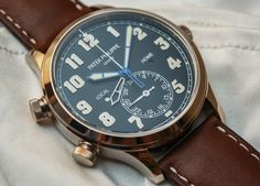 Baselworld 2015: Hands-on review of the classically designed but oddball Patek Philippe Calatrava Pilot Travel Time Ref. 5524 watch.