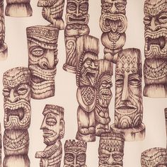 Tiki Gods - 04 by Voodoorabbit, via Flickr