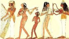 Ancient Egypt: New Kingdom, Sheath dress with shear overlay