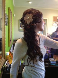 Stunning bridal hair at acorn organic salon