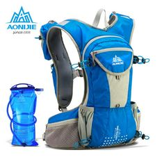 (31.04$)  Watch here - http://aimgg.worlditems.win/all/product.php?id=32765647709 - AONIJIE Hot Sale Hydration Backpack Outdoor Lightweight Running Cycling Hydration Pack with TPU Bladder for Women Men