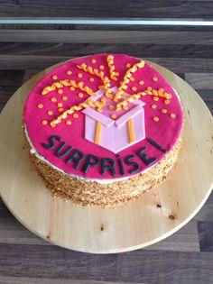 Surprise! taart