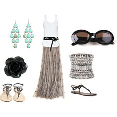 Easy, breezy, created by lray on Polyvore