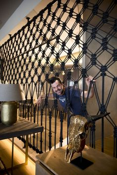 We caught up with leading creative, Damien Grivas, who is known for his ability to craft any installation his clients come up with.