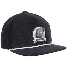 Sage Heritage Corduroy Baseball Cap (For Men) in Navy