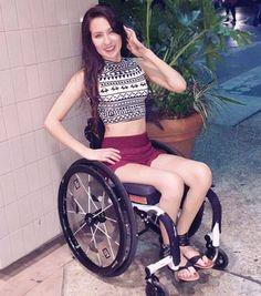 Hot paraplegic women