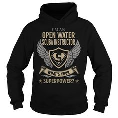 I am an Open Water Scuba Instructor What is Your Superpower Job Title TShirt http://www.deepbluediving.org/zeagle-scout-bcd-review/