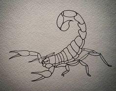 Striped Bark Scorpion #drawing #linework #neotraditionalflash #arachnid #animal #painting #art #sketch #doodle #illustration #flashart #tattoo #tattoodesign #graphicart #instaart #blackink #stripedbarkscorpion #insect #traditionalflash #tattooart #ink by jeffcusackart