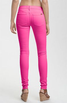 Style Pink Skinny Jeans