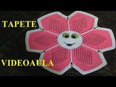 Tapete de crochê Ana Paula - YouTube