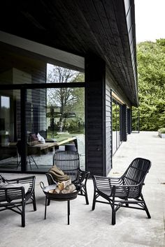 Ideas For Modern Patio Furniture Fire Pits