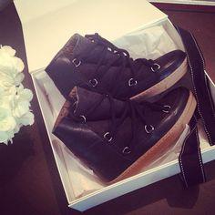 Isabel Marant winter boots |  #TheNETSet