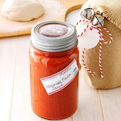 Homemade Pizza Sauce -- This is the only recipe I'll use now! I (Matt) have actually made this sauce and everyone agrees it is just as good if not better than any pizza place! Pizza Recipes, Sauce Recipes, My Recipes, Italian Recipes, Favorite Recipes, Recipe Tips, Drink Recipes, Italian Meals, Italian Dishes