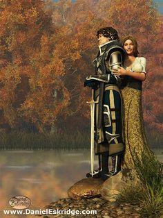 Lancelot and Guinevere by deskridge, via Flickr