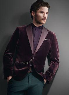 Velvet! Mens Designer Clothes & Accessories  Armani Collezioni Fall/Winter 2014 Collection