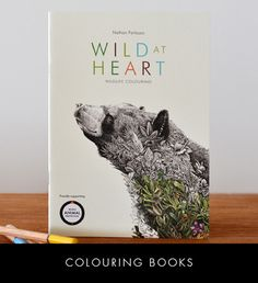 Wild at Heart - Colouring Book, by Nathan Ferlazzo. Not just a beautiful colouring book, this book also supports wildlife, with of the profits donated by the artist to World Animal Protection. Buy now at The SMH Shop. Coloring Books, Colouring, World Animal Protection, Wildlife Conservation, Ink Illustrations, Australian Artists, Animals Of The World, Wild Hearts, Buy Art