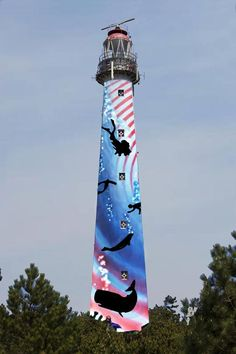 Lighthouse Ameland the Netherlands , painted for Art Project