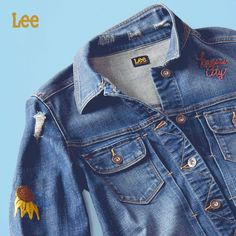 6686e6c3 Inspired by our classic, '70s Lee Riders jacket, The Middle of the Map