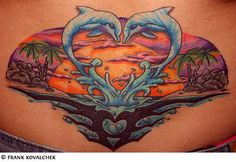 Should of done this on my lower back instead of what i have now i can probably do it still i already have the dolphins and tribal sign
