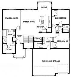 9 Best House plans images | Floor plans, Home builders, House floor Split Level Floor Plans Keyland Homes on