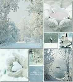 moodboard winter by AT I Love Winter, Winter White, Collages, Color Collage, Photo Images, Beautiful Collage, Winter Magic, Winter Beauty, Colour Board