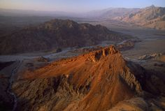 Al Jabal al Akhdar area, Nakhl to Jabal ash Sham, Oman.  Aerial view. by National Geographic on artflakes.com as poster or art print $16.63
