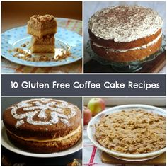 Gluten Free Coffee Cake Recipes are the best kinds of easy cake recipes. They make for a great breakfast!
