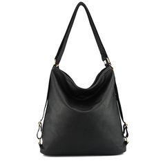 787bbeffdd2a Artificial leather shoulder bag female big handbag women black color new  arrival totes bags woman hobos