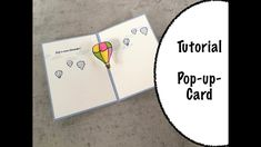 Pop-up-Karte | Tutorial | Stampin' Up! Stampinup, Card Tutorials, Diy And Crafts, Petra, Cards, Inspiration, Youtube, Card Crafts, Card Wedding
