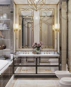 Stylish bathroom vanity light fixtures brushed nickel only i Zen Bathroom, Bathroom Layout, Bathroom Interior, Modern Bathroom, Bathroom Ideas, Small Bathroom, Stone Bathroom, Master Bathroom, Master Baths