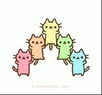 200w_d.gif (200×186) Kawaii cats colerful