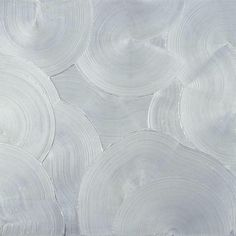 Jakob Gasteiger (Austrian, b. 1953), 9.6.2009, 2009. Acrylic with aluminum on canvas, 200 × 200 cm.