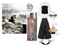 """Good morning Hong Kong!"" by statuslusso ❤ liked on Polyvore featuring Preen, Barneys New York, Isabel Marant, Tom Ford, Fendi, Hellessy, Eugenia Kim, hongkong, china and outfitsfortravel"
