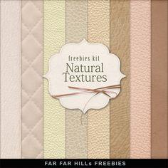 New Freebies Kit - Natural Textures