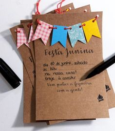 Birthday Decorations Of July 57 Ideas Cute Birthday Gift, Birthday Cards, July Birthday, Invitation Cards, Party Invitations, Diy And Crafts, Paper Crafts, E 10, House Party