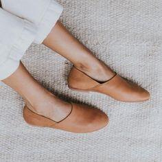 George Glove Shoe - Tan Leather