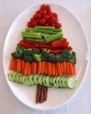 Image result for christmas tree veggie tray recipe
