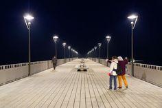 Molo w Kołobrzegu. Photo by GB #architektura #kolobrzeg #molo #sztorm